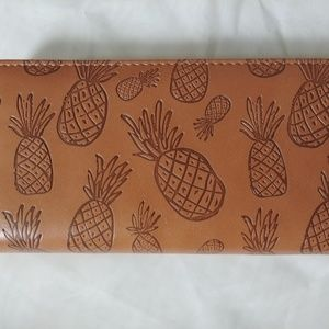 NWT pineapple wallet